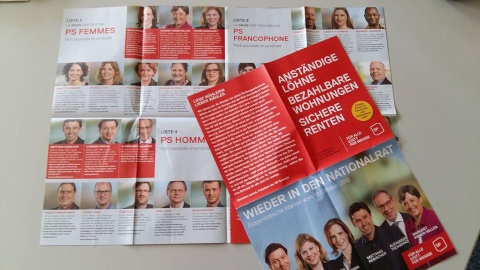 2015 Wahlprospekt